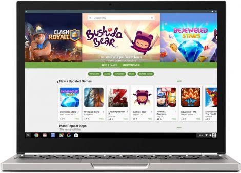 google play store su chromeos